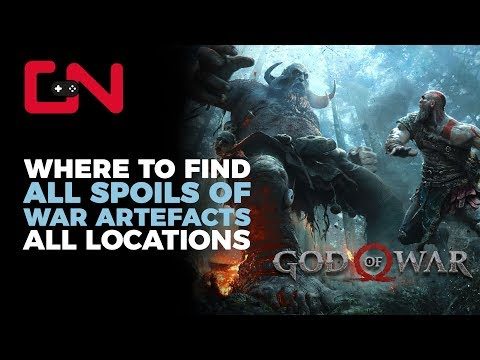 God of War Spoils of War Artefact Locations Alfheim