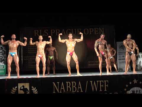 4th Callout  - NABBA Classic Bodybuilding Open - RLS Prague Open 2019