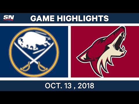 NHL Highlights | Sabres vs. Coyotes - Oct. 13, 2018
