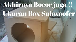 "Ukuran Box Subwoofer Barlex Audio 6""-12"""