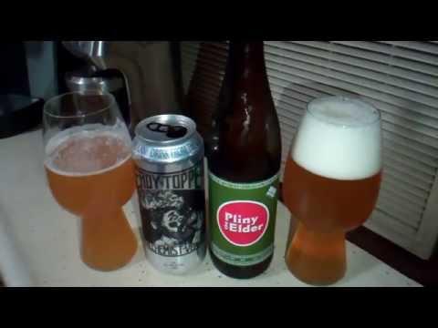 Beer Pourn - Heady Topper vs Pliny the Elder