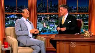 Jeff goldblum , lauren cohan  full interview on craig ferguson show