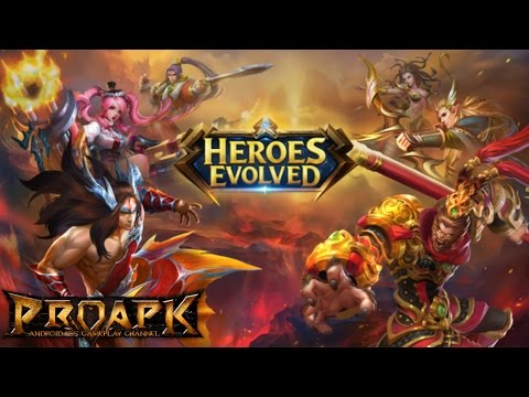 Heroes Evolved Gameplay Android / iOS
