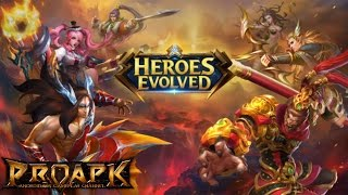 Heroes Evolved Gameplay Android / iOS screenshot 1
