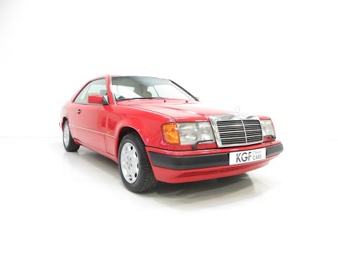 A Powerful Mercedes-Benz W124 E300CE-24 with an Incredible Service History - SOLD!