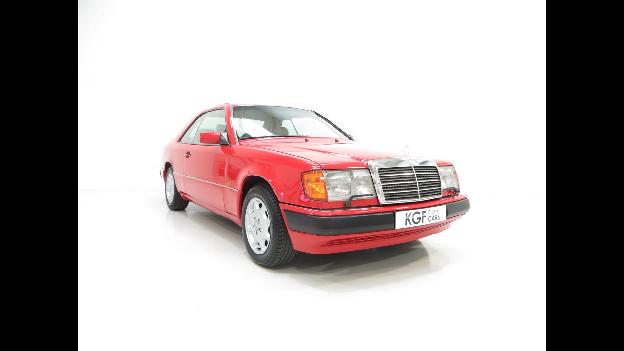 Mercedes Benz Vehicle Service History >> A Powerful Mercedes Benz W124 E300ce 24 With An Incredible Service
