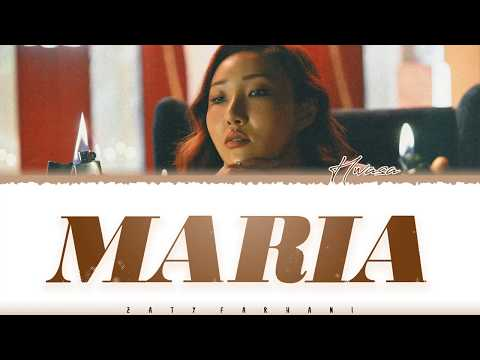 HwaSa - 'María' (마리아) Lyrics [Color Coded_Han_Rom_Eng]