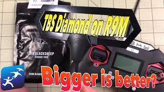 FrSky R9M Antenna, Stock or TBS Diamond for 900mhz?