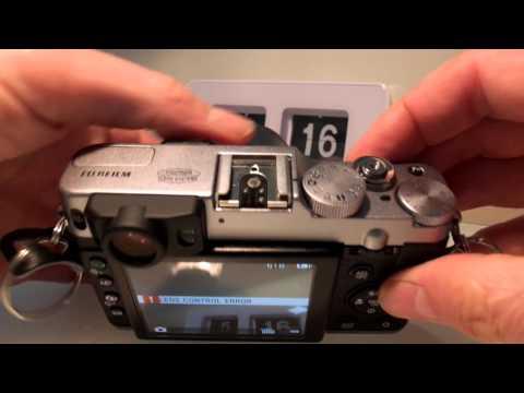Fuji X20 Lens error control