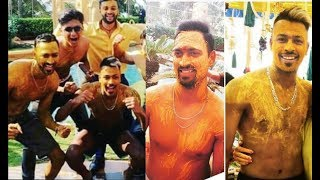 Hardik Pandya Brother Krunal Pandya Wedding Haldi Ceremony
