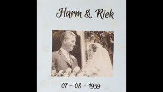 Echtpaar van Unen -  van de Worp 60 jaar getrouwd