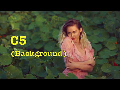 """Miley Cyrus' Vocal Range on """"Younger Now"""" (B2 - E5)"""