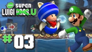 New Super Luigi U - World 3 - Sparkling Waters 100% (2 Players)