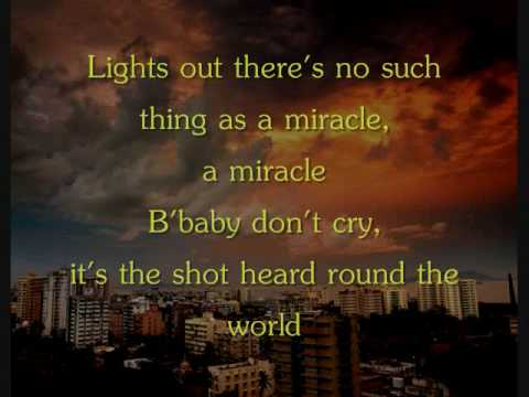 Boys Like Girls - Shot Heard Round The World [Lyrics]