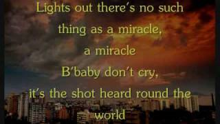 Boys Like Girls - Shot Heard Round The World [Lyrics]
