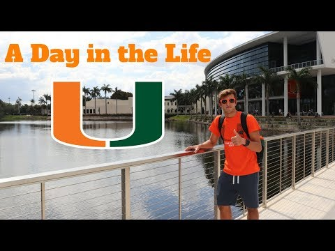 A DAY IN THE LIFE AT THE UNIVERSITY OF MIAMI