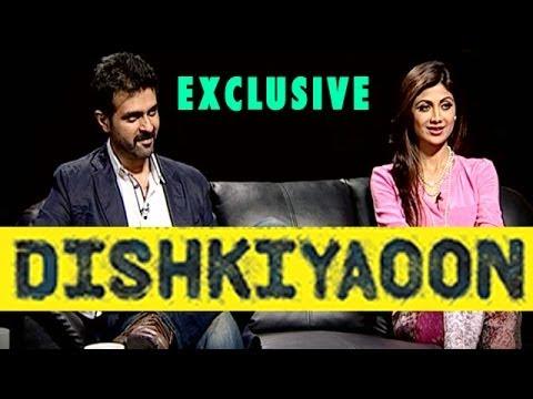 Dishkiyaoon | Harman Baweja & Shilpa Shetty EXCLUSIVE INTERVIEW