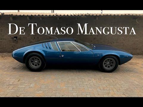 De Tomaso Mangusta road tested