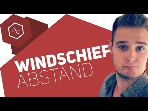 Abstand windschiefer Geraden (mit Hilfsebene)