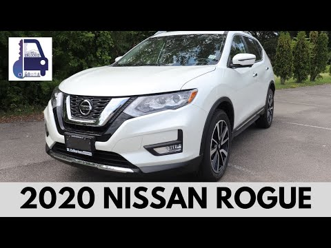 2020 Nissan Rogue SL Platinum AWD In Depth Detailed Walk Around and Review