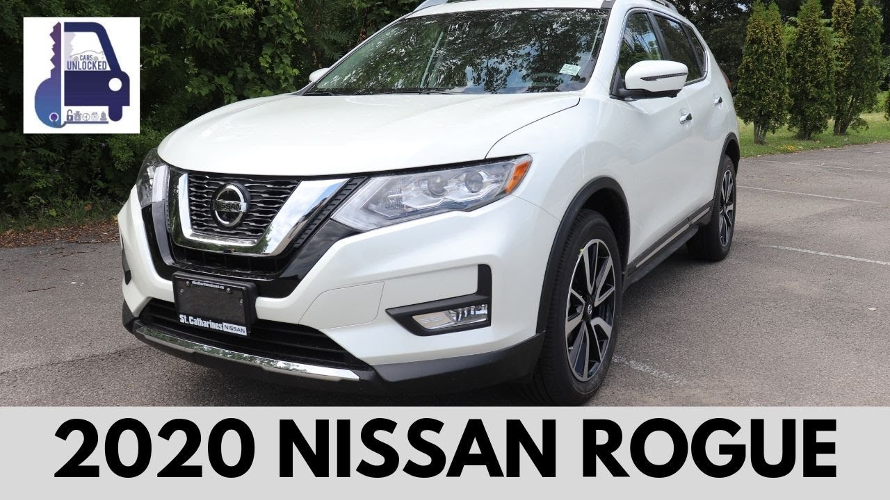 2020 Nissan Rogue Review.2020 Nissan Rogue Sl Platinum Awd In Depth Detailed Walk Around And Review