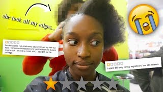 I WENT TO THE WORST RATED NATURAL HAIR SALON IN MY CITY! | Coco Chinelo