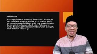 MAZHAB HUKUM ISLAM