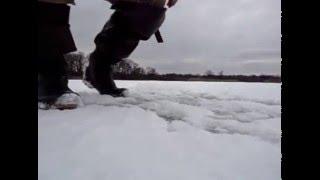 Рибалка в Білорусі.Риболовля на озері №5.