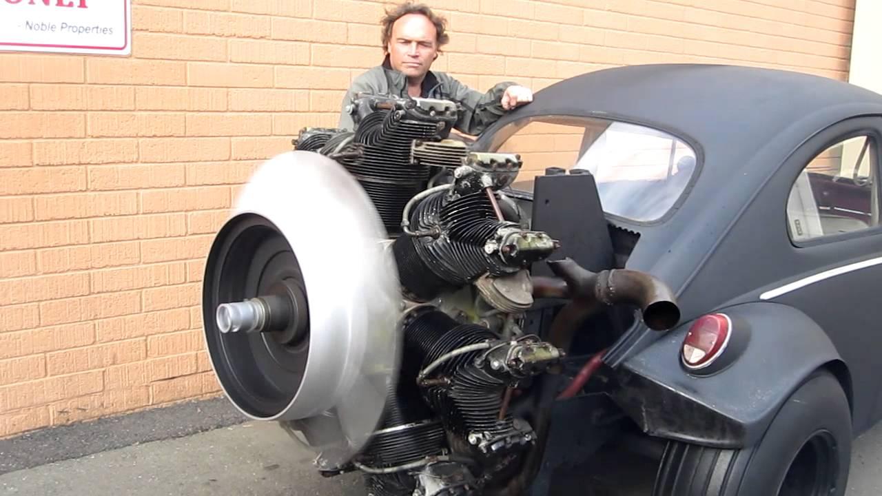 radial engine start  volkswagen youtube