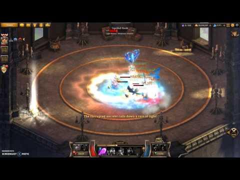 KR - Wizard Skill Combo 2: Frost Armor + Healing Fountain
