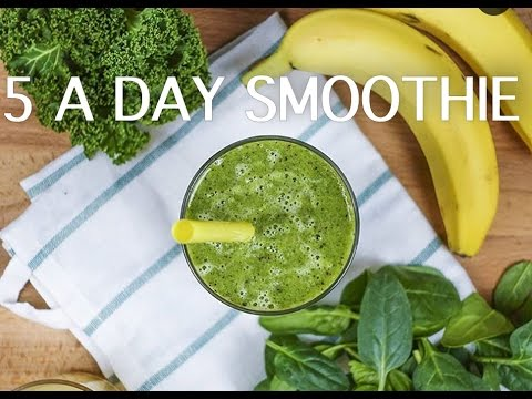 5 A DAY DELICIOUS HEALTHY BREAKFAST SMOOTHIE
