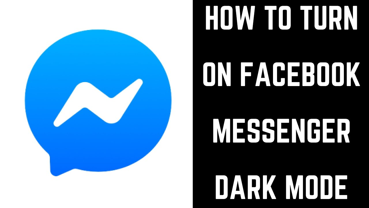 How to Turn on Facebook Messenger Dark Mode