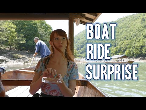 Kyoto boat ride! (With surprise!)