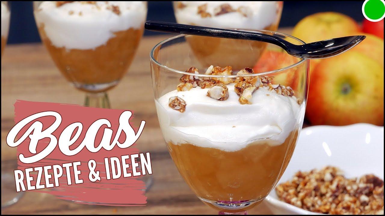 Apfelsahne-Creme Dessert 💚 Nachtisch mit 🍎