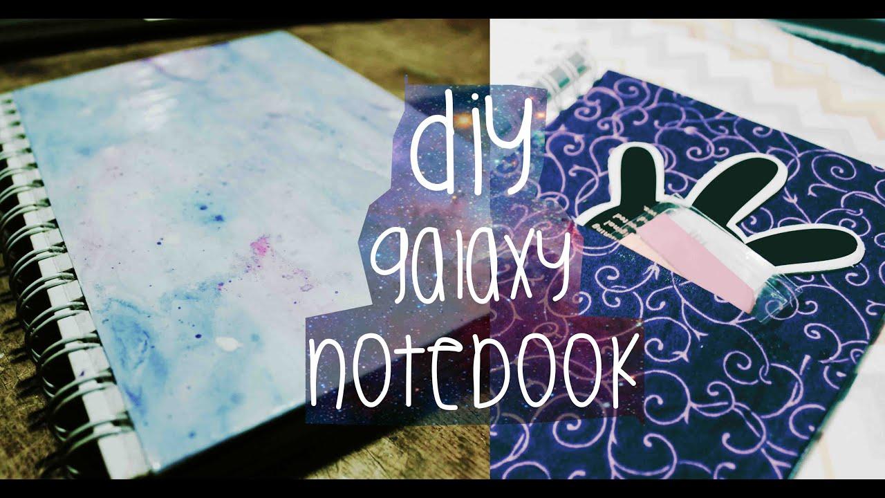 Libreta De Dibujo Mandala Unicornio Papel Blanco: DIY Galaxy Notebook = Back To