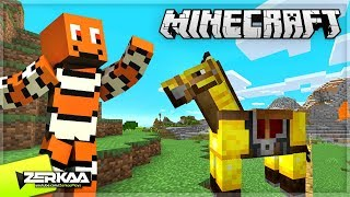 Finally Taming My Own Pet Horse! (Minecraft #20)