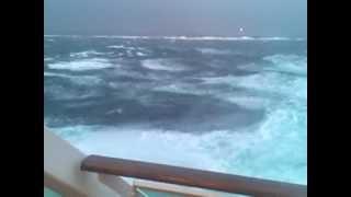 Sturm vor Bergen in Norwegen