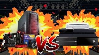 Baixar PC Gamer vs Console - QUAL O MELHOR?! #CANALCURIOSO