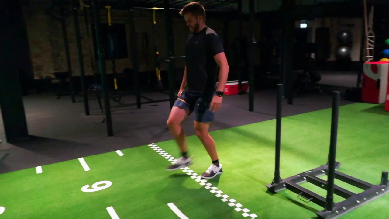 Fit Cuffs - Occlusion Training: Sports Performance - Sled Push