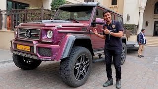 Here's Why The Mercedes G550 Is Worth $300,000 !!!