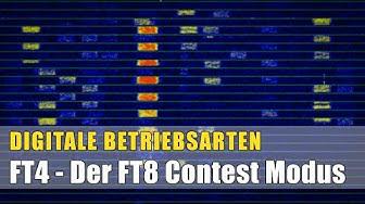 Digimodes #10 - FT4 - Der FT8 Contest Modus
