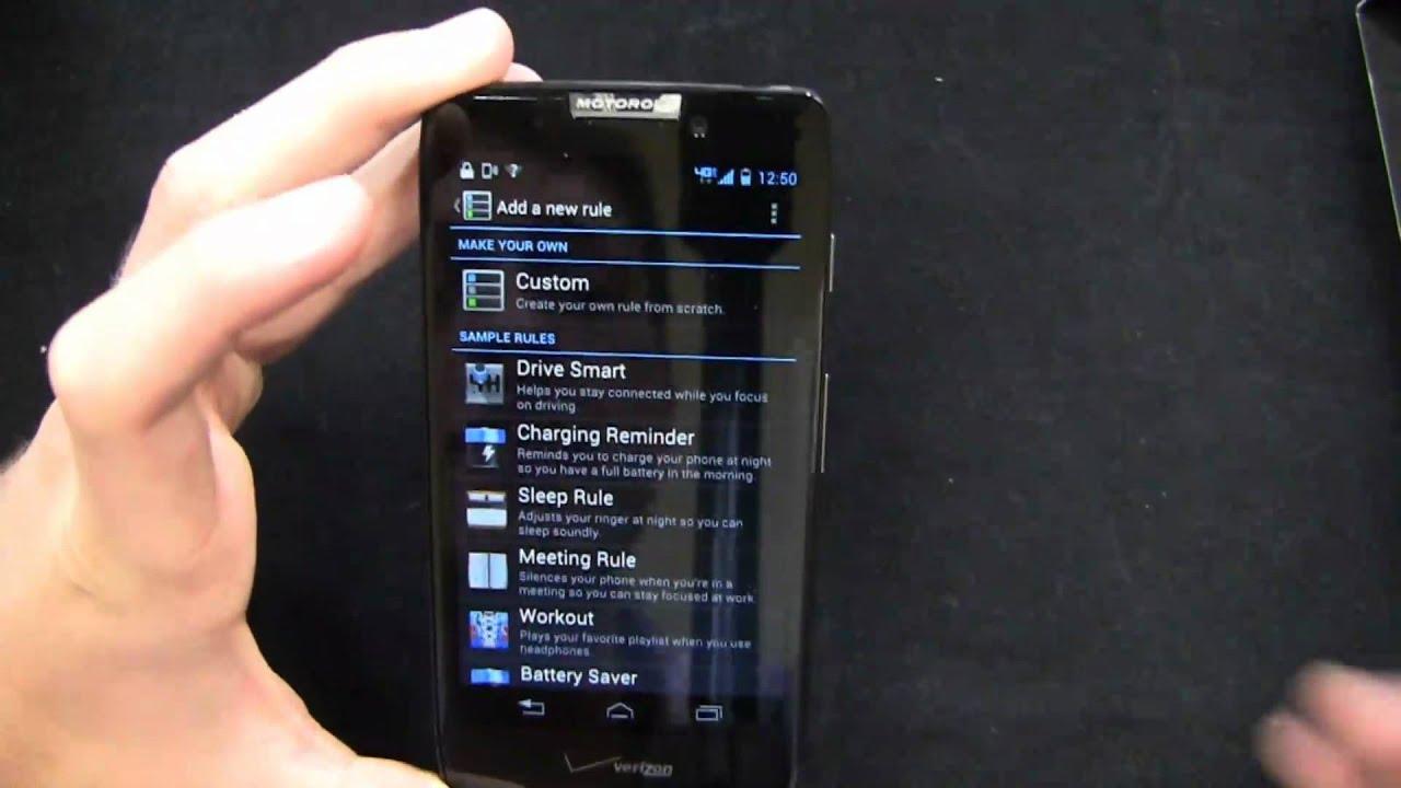 Motorola DROID RAZR HD Unboxing