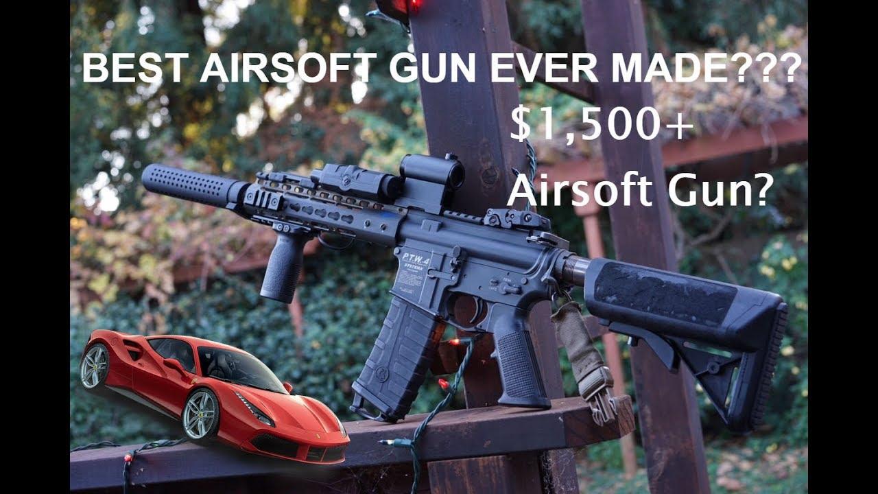Custom Tackleberry Systema PTW The Ferrari of airsoft guns?
