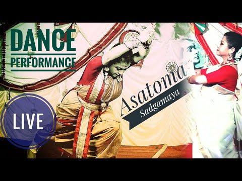 asatoma-sadgamaya-live-dance-performance-|arijit-singh|-by-moumita-ghosh