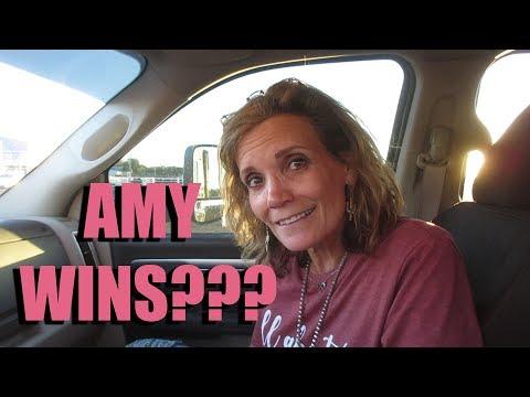AMY WINS???