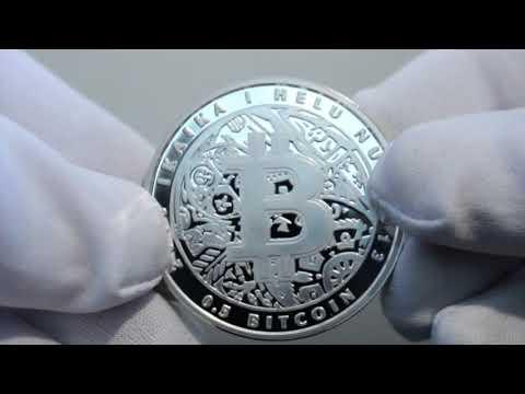 2013 Lealana Silver .5 BTC (RARE GOLD HOLOGRAM! 1 Of 10) - Physical Bitcoin Revealed