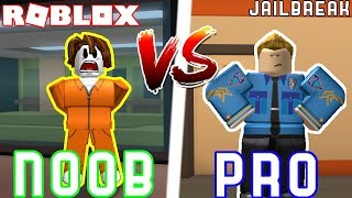 Pro VS Noob in JAILBREAK 2!! // Roblox Jail break Ft. Seniac