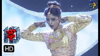 Dharsini Performance | Dhee 10 |  15th November 2017| ETV Telugu