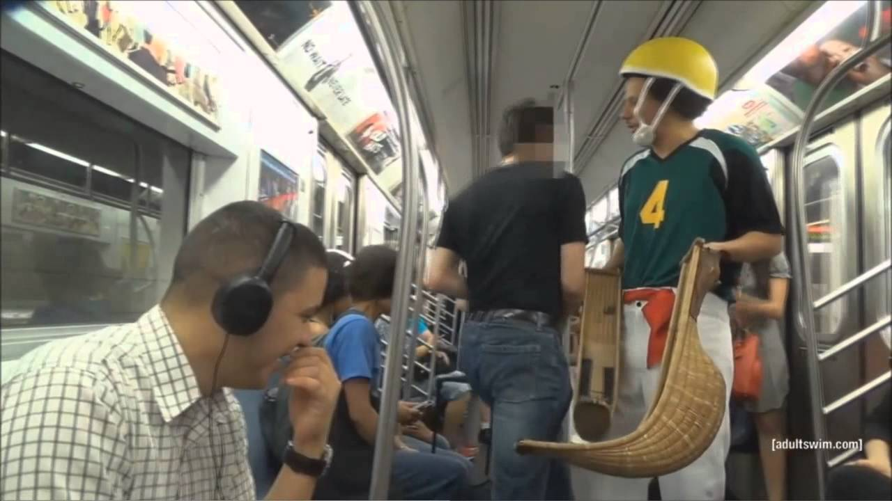 eric andre m ms on the subway youtube