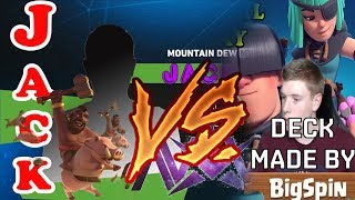 Jack  vs   bigspin deck |  royale premier league